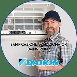 sanificazione condizionatori daikin roma